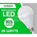 Ampolleta Led 26 Watts Eco