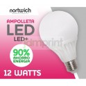 Ampolleta Led 9 Watts Eco / Led+