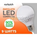 Ampolleta Led 9 Watts / Compactas