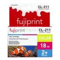 Cartucho Canon Color CL-211 18 ml.