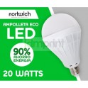 Ampolleta Led 20 Watts Eco