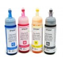 Pack Tintas Originales Epson T664 70ml C/u