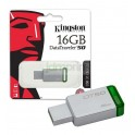 Pendrive Kingston 8GB USB 2.0 PLATA