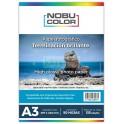Papel fotográfico glossy brillante Nobucolor A3 135 gr. 50 hojas