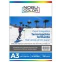 Papel fotográfico glossy brillante Nobucolor A3 230 gr. 20 hojas
