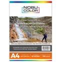 Papel fotográfico glossy brillante Nobucolor A4 230 gr. 50 hojas