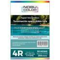 Papel foto matte doble cara 4R 102x152 Mm. 220 gr. 50 hojas Nobucolor
