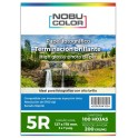 Papel foto glossy 5R 127 x 178 mm. 200 gr. 100 hojas Nobucolor