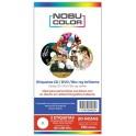 Etiquetas CD / DVD glossy 130 x 255 mm. 135 gr. 20 hojas Nobucolor