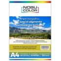 Papel foto pigmentado brillante 250 gr. A4 20 hojas Nobucolor