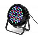 Par LED SLIM 54x3w RGBW Aluminio