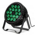 Par LED SLIM 18x12w RGBWA 5 en 1 Aluminio