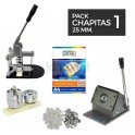 Pack chapitas 25 mm.