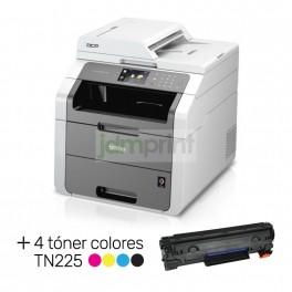 Multifuncional Láser Brother Color Adf Dcp-9020 Cdn