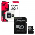Memoria Micro SD 8GB Kingston c/adap 4