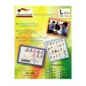 101x51 Etiquetas Adhesivas Matte Alta Definición 108grs 25hjs