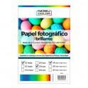 Papel foto glossy Nobucolor 4R 10x15 Cm. 230 gr. 20 hojas