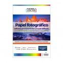 Papel foto glossy adhesivo permanente A3+ 135 gr. 20 hojas