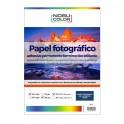 Papel foto glossy adhesivo permanente Nobucolor A4 135 gr. 20 hojas