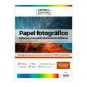 Papel foto glossy adhesivo permanente A3 135 gr. 20 hojas