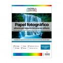 Papel foto glossy adhesivo permanente Nobucolor Carta 115 gr. 20 hojas