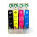 Set Cartuchos Recargables Epsn T50/290 6 Colores (821nr)