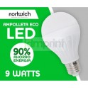 Ampolleta Led 9 Watts Eco