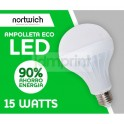Ampolleta Led 15 Watts Eco Fria