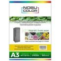 Papel foto magnético matte Nobucolor A3 1 hoja 640 gr.
