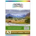 Papel foto glossy brillante doble cara Nobucolor A3 240 gr. 20 hojas