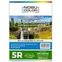 Papel foto glossy 5R 127 x 178 mm. 200 gr. 100 hojas Nobucolor
