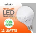 Ampolleta Led 12 Watts Eco / Compactas