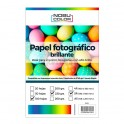 Papel foto glossy 5R 130 x 180 mm. 230 gr. 100 hojas Nobucolor
