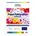 Papel fotográfico glossy brillante Nobucolor A3+ 180 gr. 20 hojas