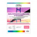 Papel foto matte doble cara Nobucolor A4 120 gr. 50 hojas