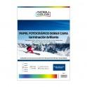 Papel foto glossy brillante doble cara Nobucolor A3+ 200 gr. 20 hojas