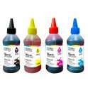 Set botella tinta Dye 100 ml. Brothe 4 colores