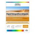 Papel fotográfico glossy brillante Nobucolor A4 115 gr. 100 hojas
