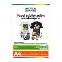 Papel Sublimación Premium KNF A4 - 100 grs. 50 hojas