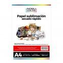 Papel sublimación Premium KNF A4 - 100 hojas - 100 grs.