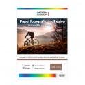 Papel foto glossy adhesivo removible Nobucolor A4 135 gr. 20 hojas