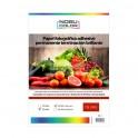 Papel foto glossy adhesivo permanente A3 115 gr. 50 hojas