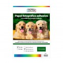 Papel foto glossy adhesivo removible A3 115 grs. 20 hojas