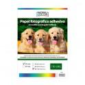 Papel foto glossy adhesivo removible A3+ 115 gr. 20 hojas