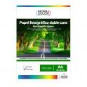 Papel foto matte doble cara Nobucolor A4 120 gr. 100 hojas