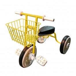Bicicleta Aro 12 para niños - Lanq Fd Amarilla